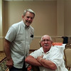 Don & Bob at the hospitality suite. Picture by Betsy Howard Jefferson.