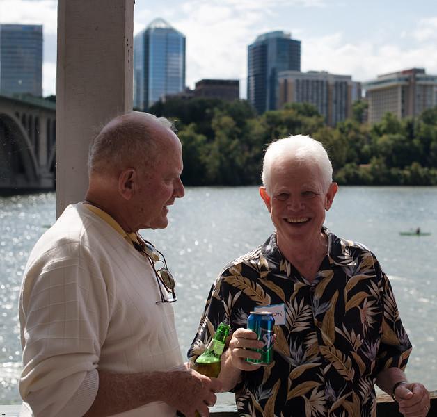Jim Blamphin and Bill Forti.