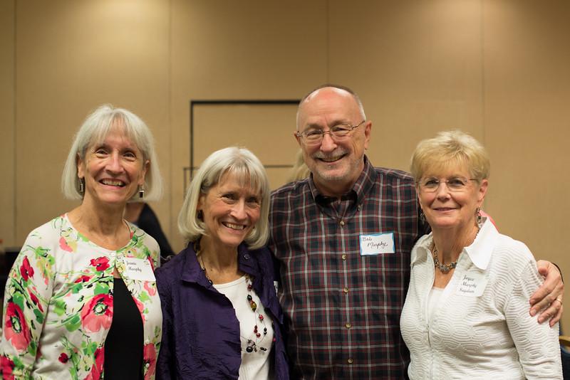 Clan Murphy reunites!! Jeanie, Jackie, Bob & Joyce. (Lois was not present.)