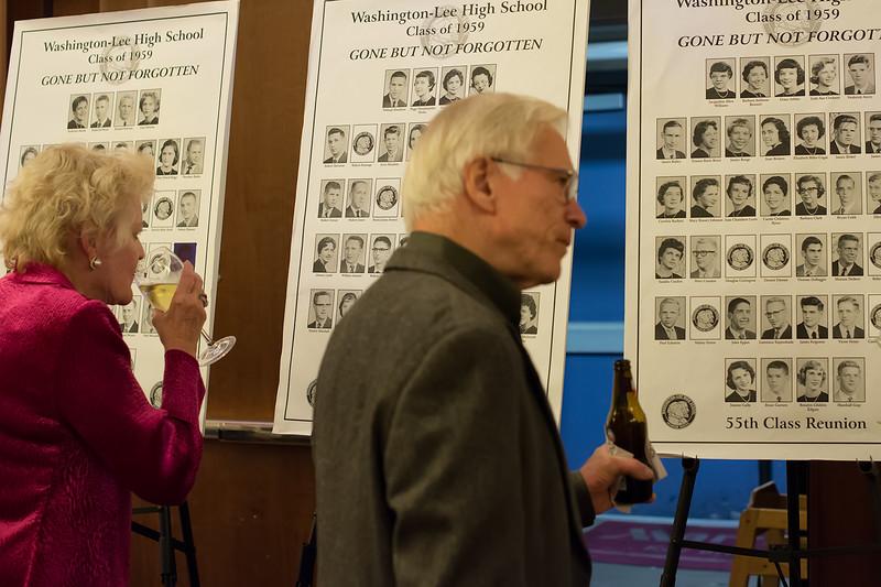 Jeanie Sands & Guy Guthridge recalling departed classmates.