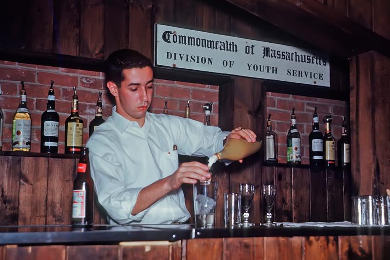 Don Ghiz ('64) Does Bar Duty