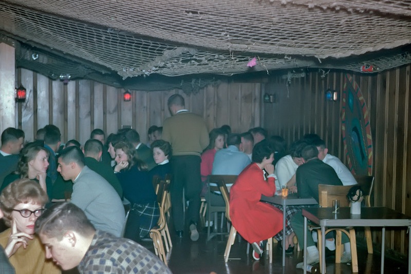 Party Scene at Sig Ep, Fall, 1961