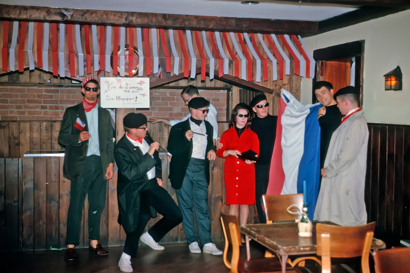 A French-Themed Party