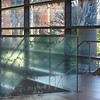 Basic equations of physics etched into the glass panels within the Regents Hall