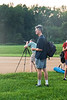 Greg Ackerman looks on as Charles Eberhardt searches for Venus in the still bright sky. Charles shared his telescope with others giving many folks a great view of the Moon, Venus, Jupiter and Saturn. We think we actaully saw Saturn's rings!