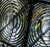Diffraction Induced Colors in a 3rd Order Fresnel Lens