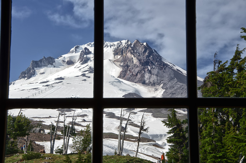 Mt Hood from the Timberline Lodge