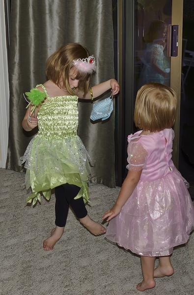 Three Little Princesses Dancing (Look Carefully!)