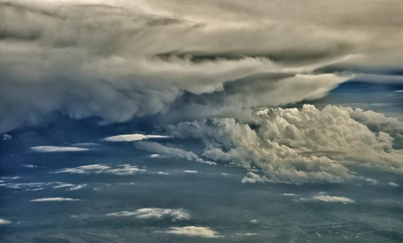 Storm System Somewhere Near Wyoming