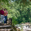 Bob & Nancy at Moulton Falls<br /> (Sans Garbage Can)