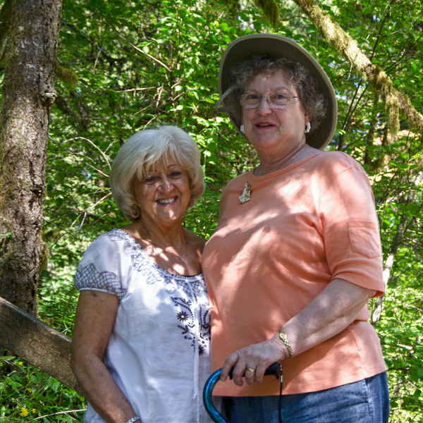 Karen & Nancy at Moulton Falls