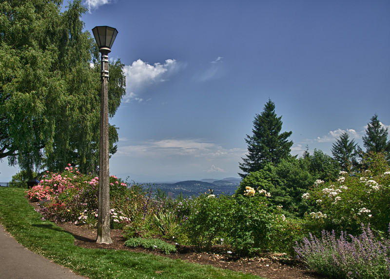 Pittock Mansion in Portland, OR<br /> (Prep Shot for Future Moonrise Shot)