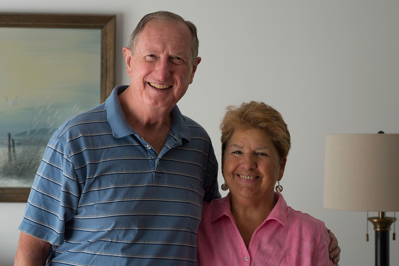 Dick & Charlene at Their Home in Cromwell, CT