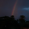 Rainbow at Sunset from Jameson's by the Sea (See Previous Image)<br /> Haleiwa, HI<br /> 2010