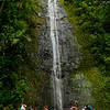 The Lower 75' Drop of Manoa Falls