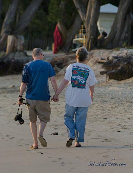 Bob & Nancy at Kailua Beach Park