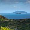 The Mokulua Islands and Mokapu from the Switchback on the Makapu'u Trail