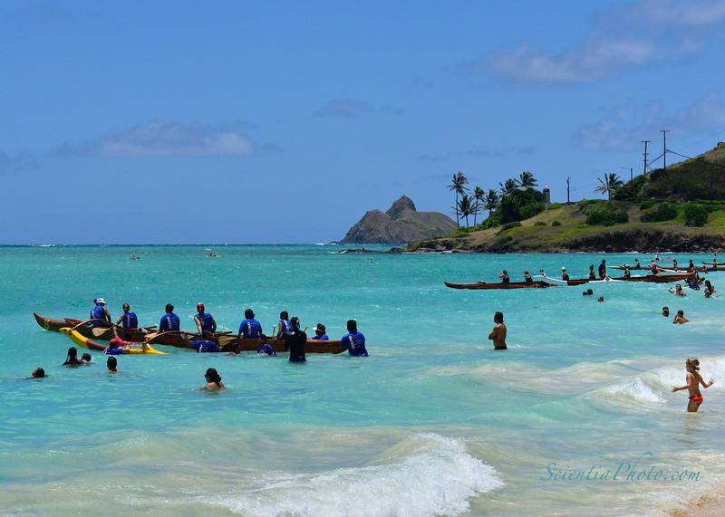 Outrigger Regatta at the Kailua Beach Club
