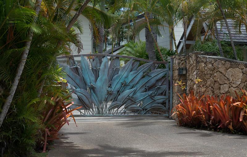 Residential Gate in Lanikai - 2