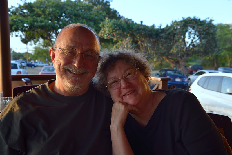 Bob & Nancy in Hawaii