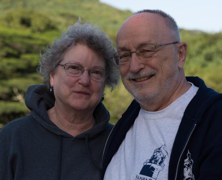 Nancy & Bob at Wailua Falls