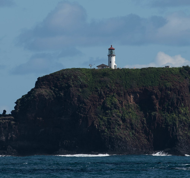 Kilauea Lighthouse Sits Atop a 220' High Cliff at Kauai's Nothern-Most Point