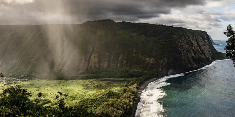 Waipio Valley and a Black Sand Beach