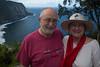 Bob & Nancy at the Waipio Valley Overlook