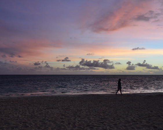Beach Walk at Sunrise (Lanikai)