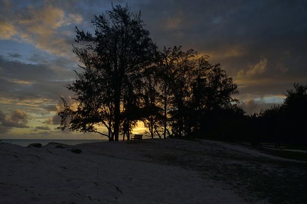 Kailua Beach Park at Sunrise