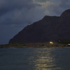 Full Moon Over Makapuu Lighthouse June 3, 2012