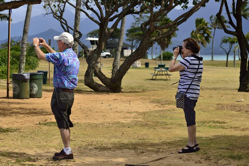 Emmett & Lani at Kualoa Park