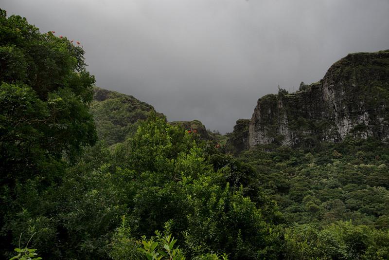 Underlooking the Pali Overlook