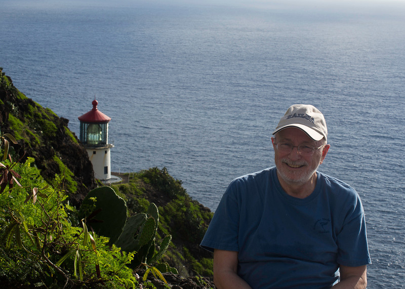Bob & the Makapu'u Lighthouse (About 425 Feet Above the Ocean)