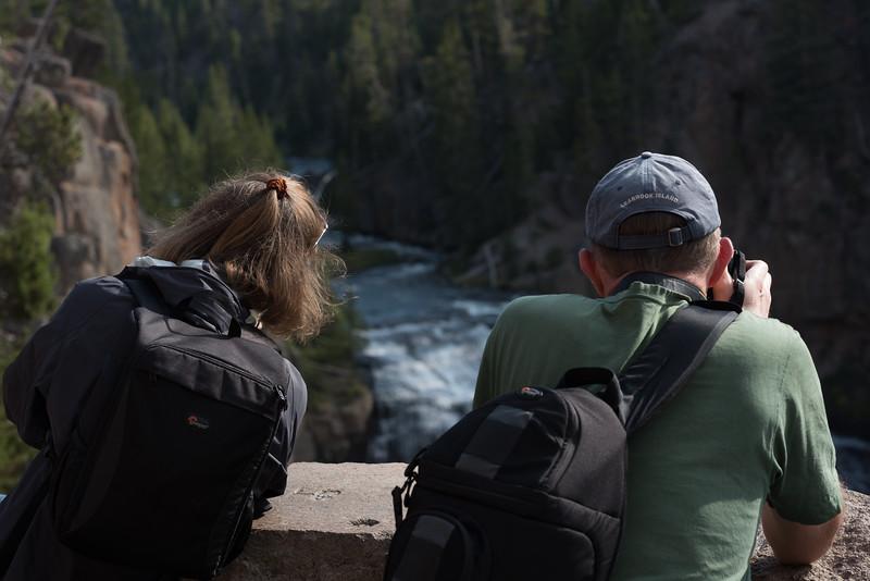 Kimberly & Jack at the Gibbon Falls