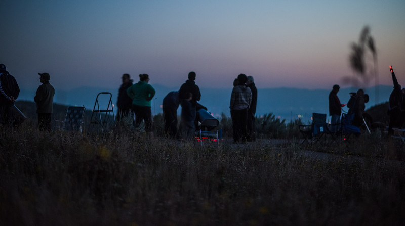 Star Party at the Overlook at 8,000' on the Slopes of the Grand Targhee