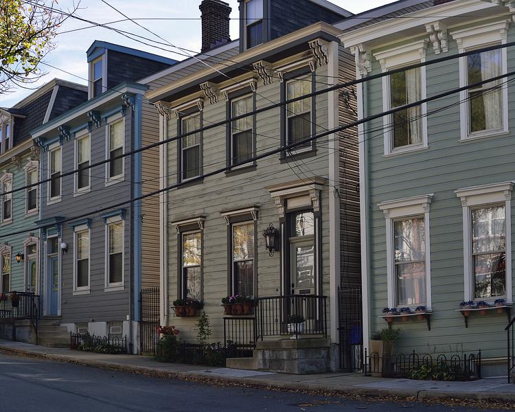 Voskamp Street on Troy Hill.  Hybner Family Lived at Several Addresses Along this Street.
