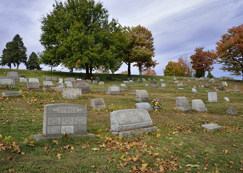 United Cemetery, North of the Family Home