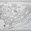 Map Showing Approximate Locations of the Hybner Family in & around Troy Hill. Map ca 1911.