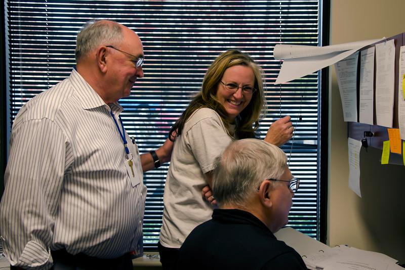 Around the Office: Carl, Jane, Ray
