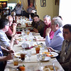 Ray, Eric, Bruce, (& Bruce, Eric, Ray), Bob, Carl, (Neal, Glenn, Rich), Rich, Glenn, Heather, Neal, Tim.
