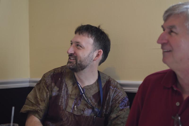 Rich & Glenn, being amused.