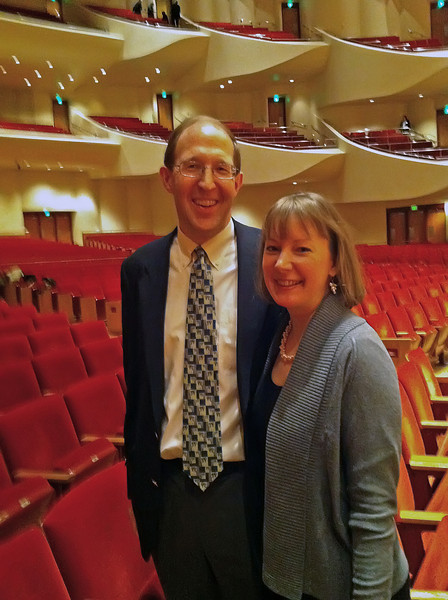 January 2: Kimberly & Jack at the Meyerhoff for New Years Concert