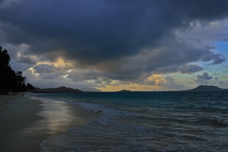 Kailua Beach at Sunset