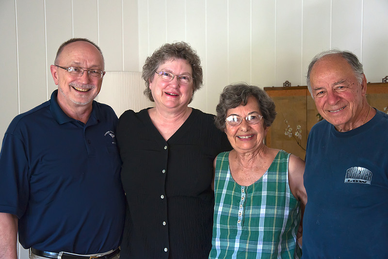 Bob & Nancy with Dick & Shirley: Good Friends and (Former) Good Neighbors