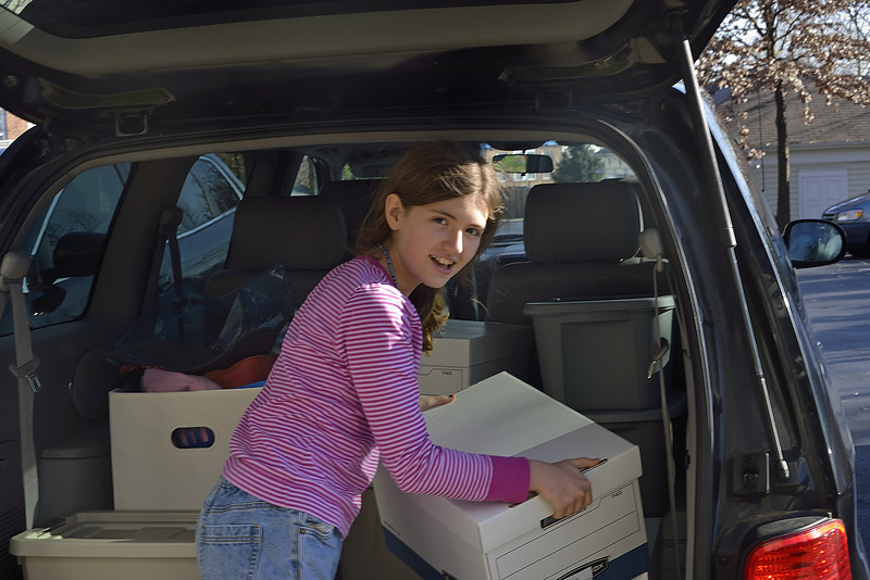 December 8: Moving Day - Lexi in Columbia