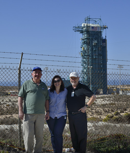 At the NPP Launch Pad: Colleagues in Arms - Carl, Heather, Bob