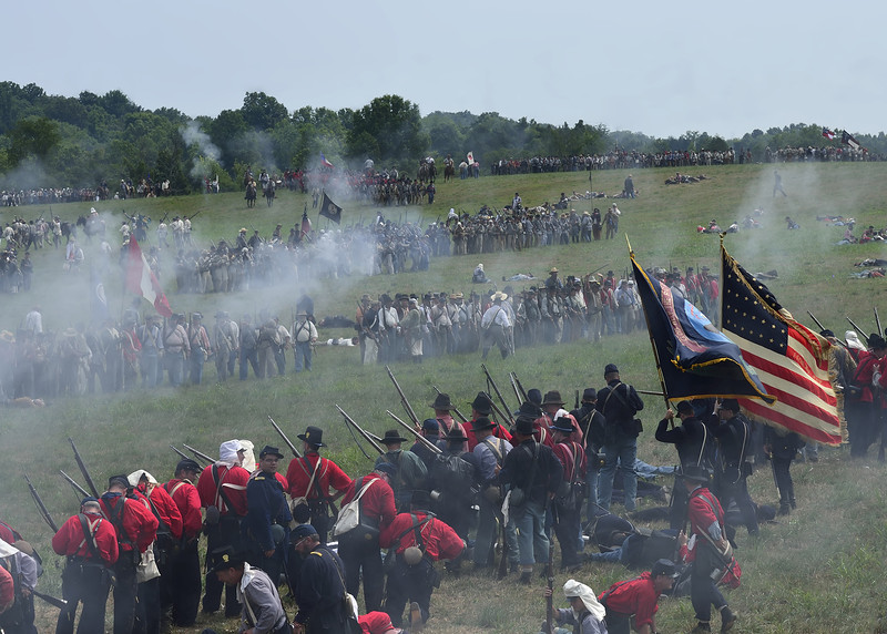 First Manassas Reenactment
