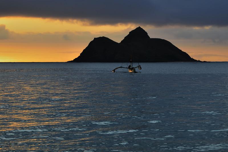 May: The Hawaii Trip - A Lanikai Sunrise