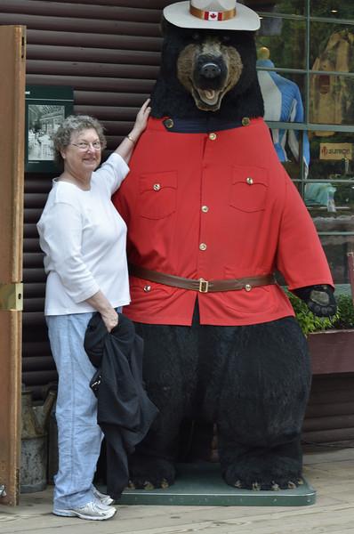 Nancy & a Bear